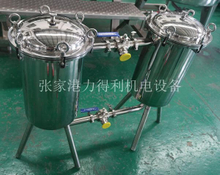 Small Double Filter in Beverage Juice Production Line